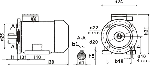 Электродвигатель АИР