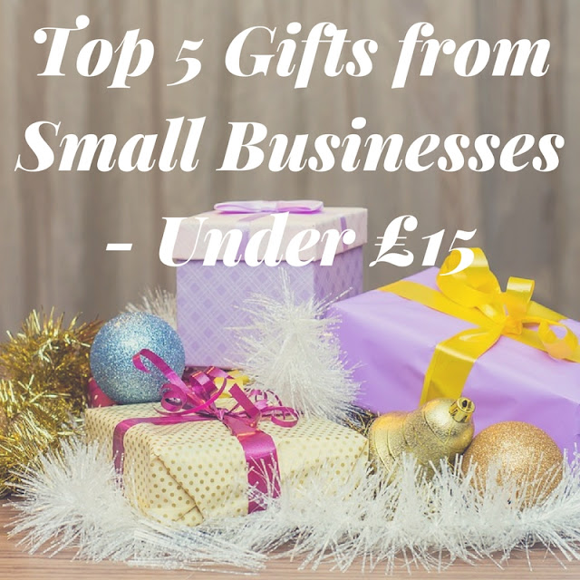 Top 5 Gifts from Small Businesses - Under £15