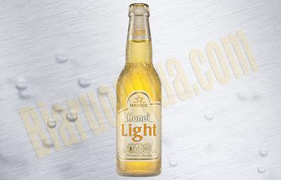 Bia chai Hanoi Light