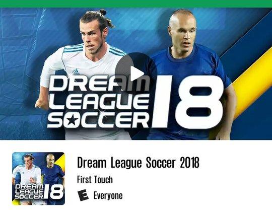 mod apk 2018 dream league soccer