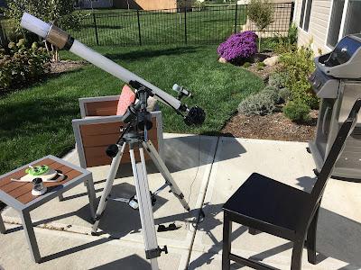 meade 285 refractor solar observing