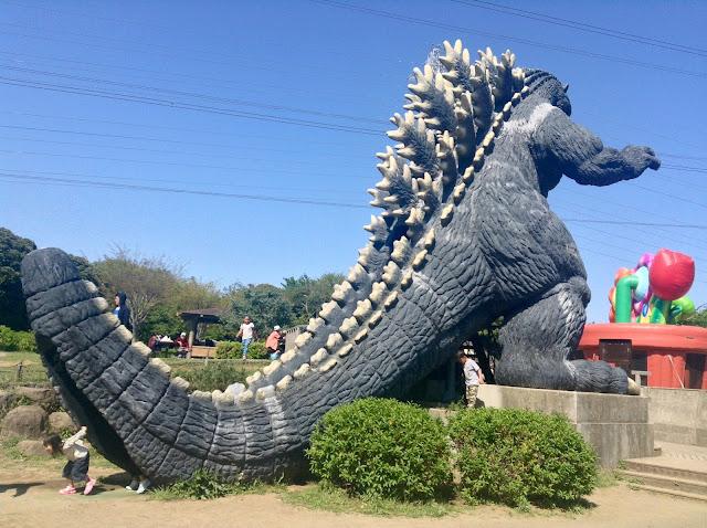 Godzilla slide Kurihama