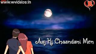 Ye Raatein Ye Mausam Romantic Whatsapp Status Video