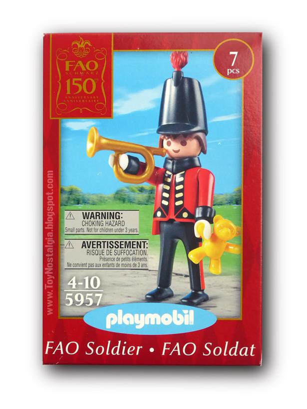 Playmobil 5957. Soldado F.A.O. Schwarz 150 aniversario (2012)  Toy Soldier Soldat