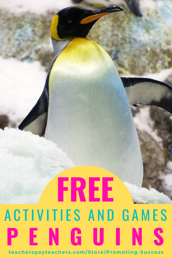 Promoting Success: Penguin Video and Activities for Kids [ 1102 x 735 Pixel ]