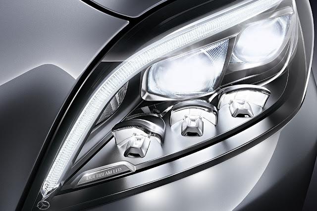 Mercedes CLS 400 sử dụng Công nghệ chiếu sang Multibeam LED