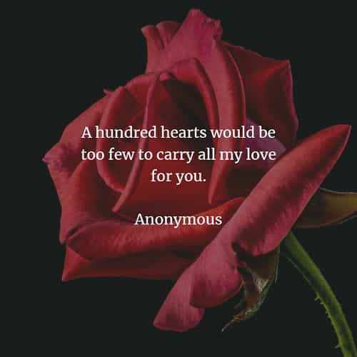 Wedding quotes and sayings with pure heartfelt love