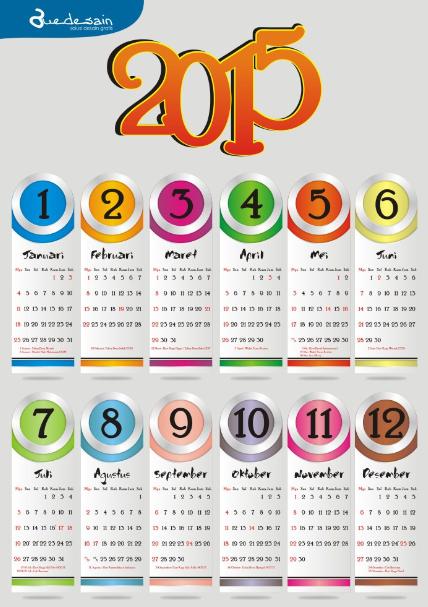 Kalender 2015 Indonesia Hari Libur Nasional