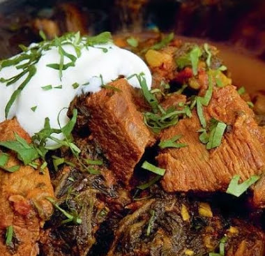 Beef & Spinach Curry recipe