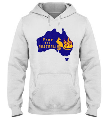 Pray for Australia T Shirt Hoodie Sweatshirt. GET IT HERE