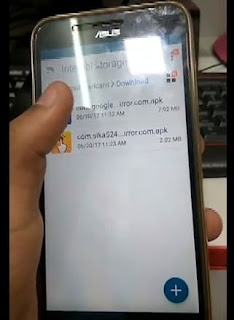 Bypass Asus GO Z00VD Verifikasi Google Account
