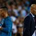 Ronaldo ban angers Real Madrid coach Zidane