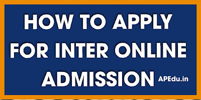 AP Inter online admissions from today - User Manual for Online Admission