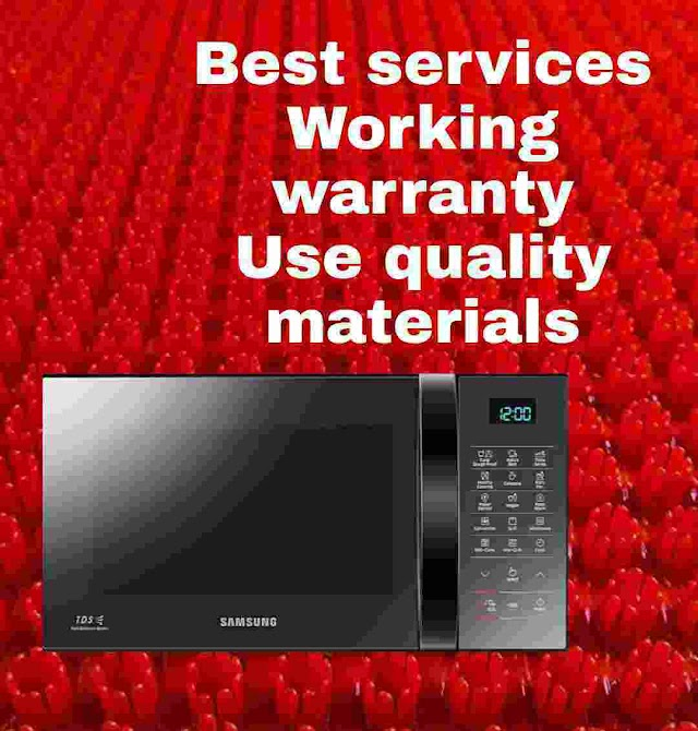 Cheap Microwave Oven Services with Warranty - Use Quality Materials