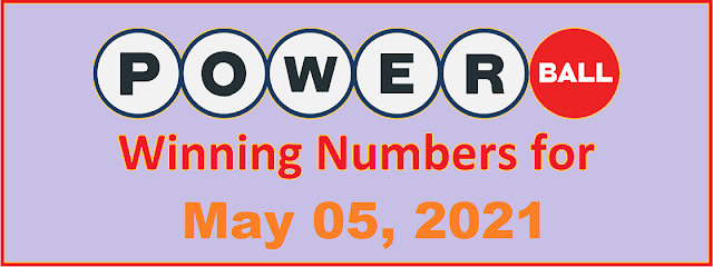 PowerBall Winning Numbers for Wednesday, May 05, 2021