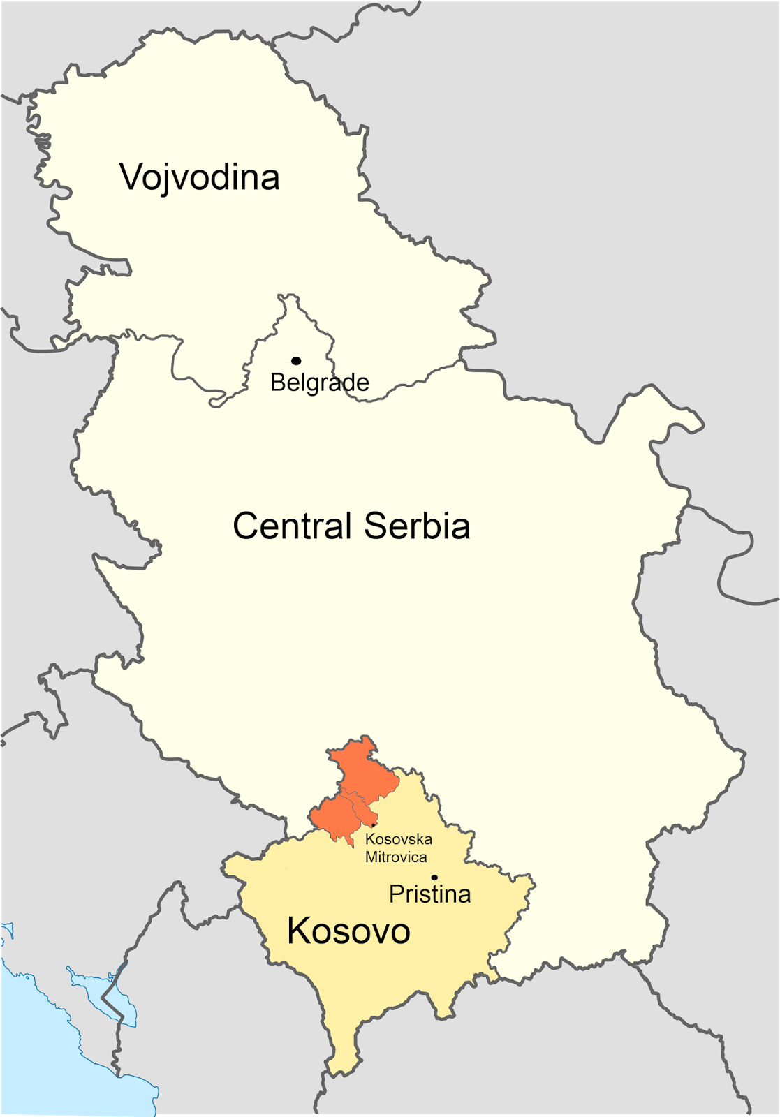 kosovo is a territory within the borders of serbia but it has declared independence from serbia in 2008 and is recognized as a separate nation by 112