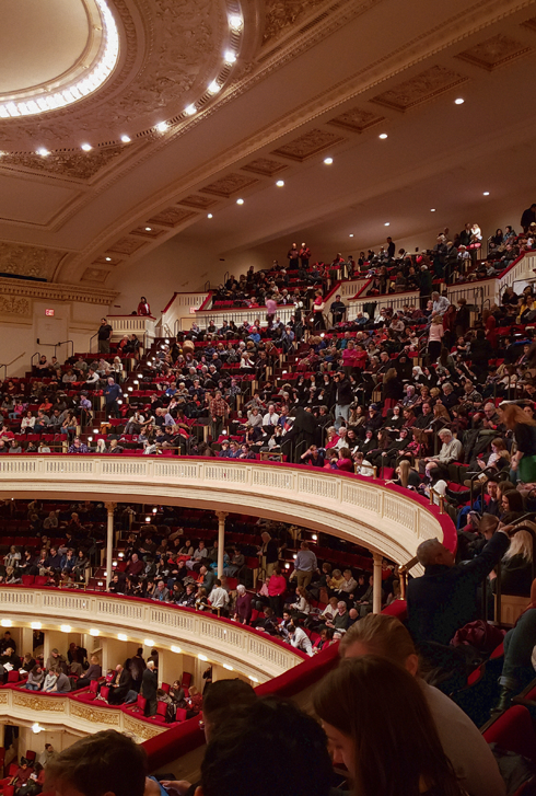 Carnegie Hall Christmas Concert