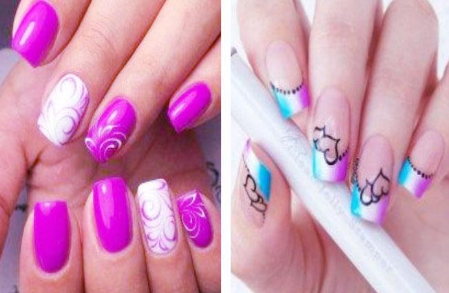 Beautiful French Manicure Nail Art