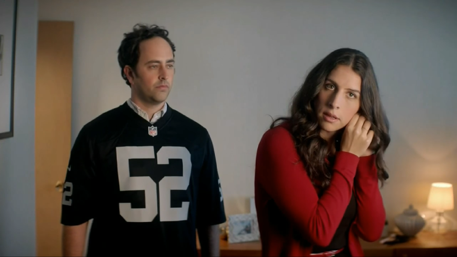 Raiders Sweater Vs. Chiefs Jerseys Feature in Latest NFL Shop Ad ...