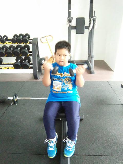 Abang Ammar Ke Gym