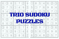 Trio Sudoku Variation Puzzles