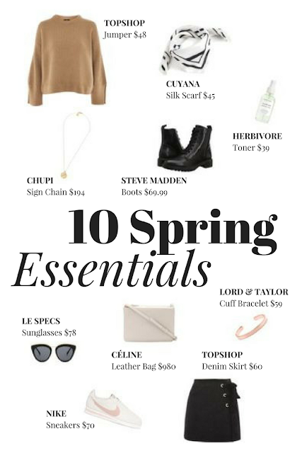 10 Spring Essentials