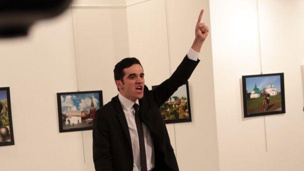 قاتل السفير الروسي, الشخص الذي قتل السفير الروسي في تركيا