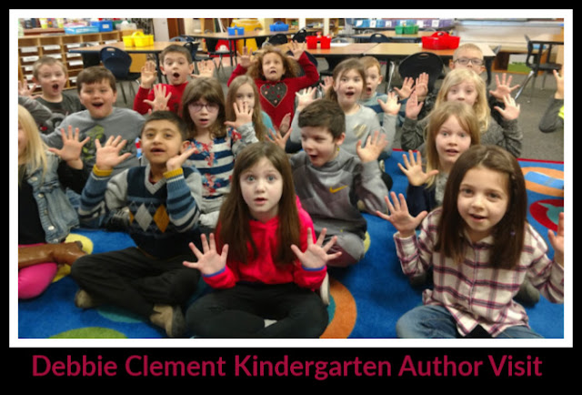 Author Visit with Debbie Clement to Kindergarten Classroom