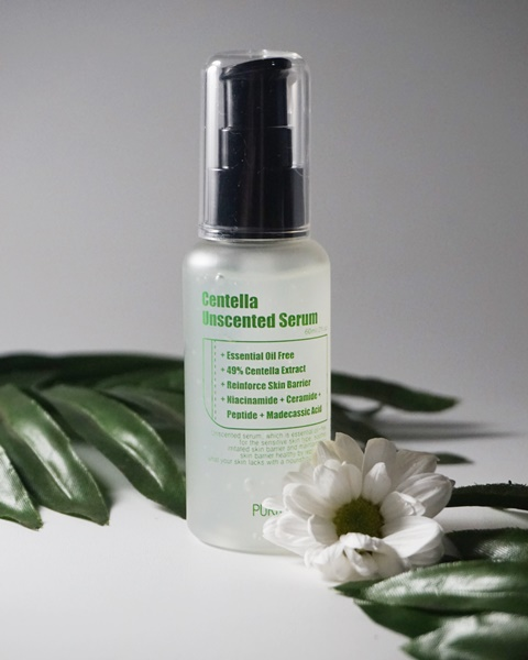 purito unscented serum, centella serum, centella unscented serum