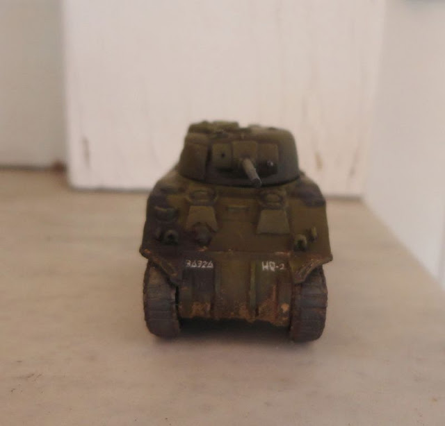 M4 Sherman 15mm FoW Bolt action normandy