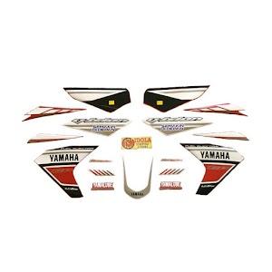 Idola Striping Motor for Vixion GP 2013 - Full Merah