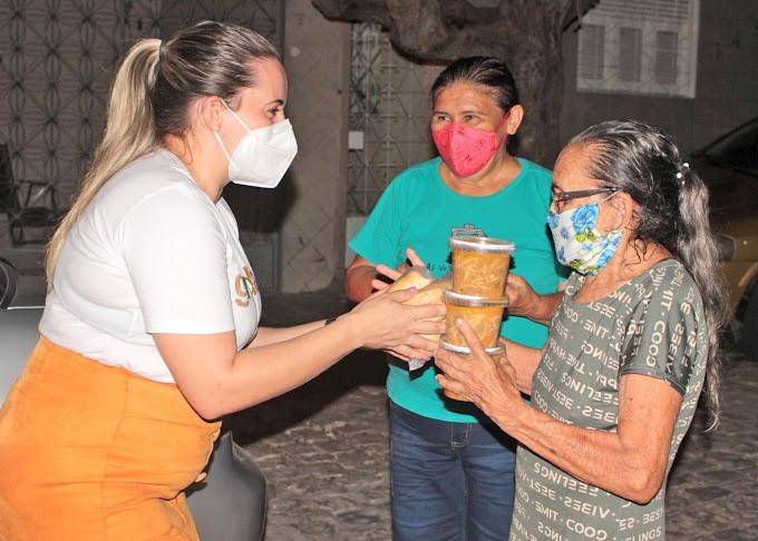 Amigos promovem sopão solidário e distribuem para pacientes Covid-19 e famílias carentes em Apodi