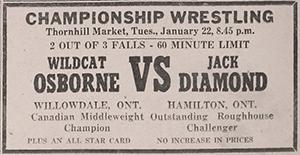 Maple Leaf Wrestling: Results: Richmond Hill 1957