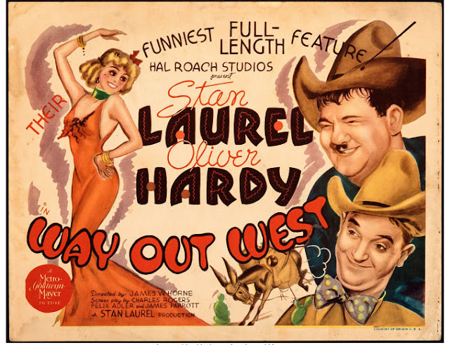 US film poster for Way Out West (1937)