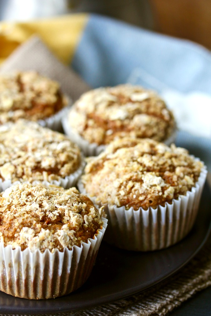 Butternut Squash and Apple Muffins