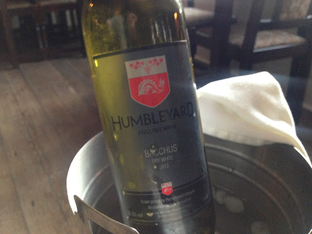 Humbleyard Bacchus, English wine