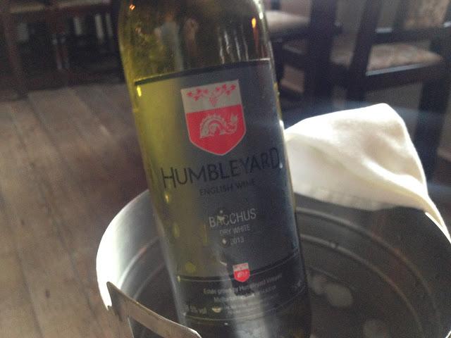 Humbleyard Bacchus, English wine