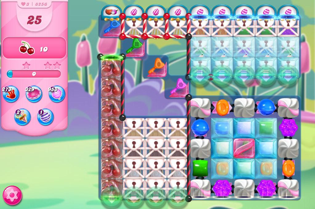 Candy Crush Saga level 8256