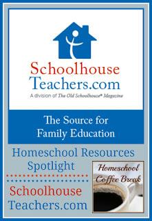 Homeschool Resources Spotlight - SchoolhouseTeachers.com on Homeschool Coffee Break @ kympossibleblog.blogspot.com
