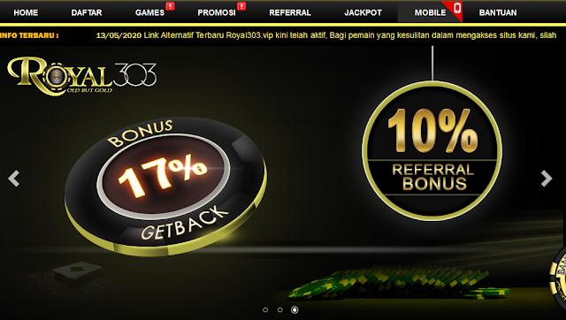 Situs Poker Terbaru Bonus Seumur Hidup | Royal 303