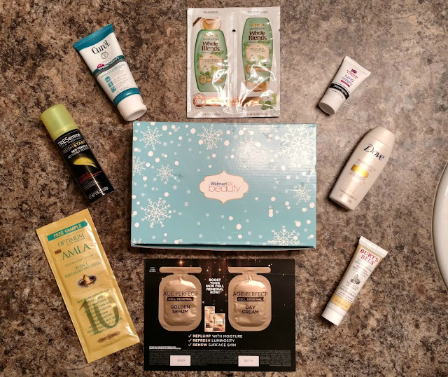 Winter 2017 Walmart Beauty Box Review--Is it worth $5?