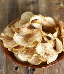 spiced apple chips recipe