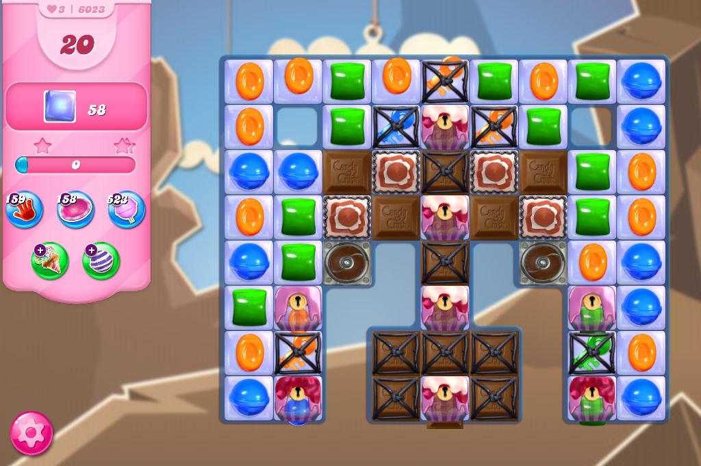 Candy Crush Saga level 6023