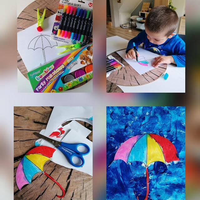 Deszczowa pogoda kreatywnie
