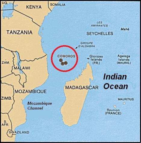 أين تقع جزر القمر ثقافة أونلاين
