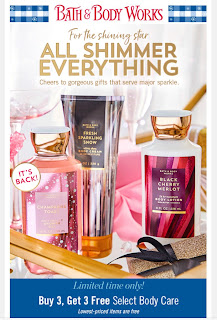 Bath & Body Works | Today's Email - November 5, 2019