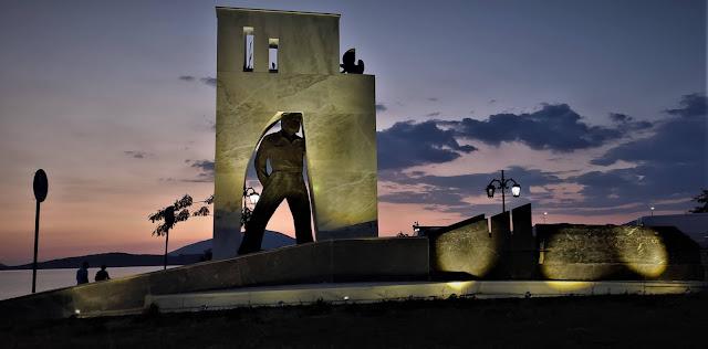 Ήγουμενίτσα: Ολοκληρώθηκαν οι εργασίες ανακαίνισης του μνημείου εφέδρου αξιωματικού στην Ηγ/τσα