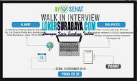 Walk In Interview at Ayo Sehat Surabaya Terbaru Desember 2019