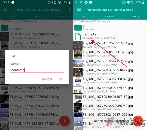 Cara Menyembunyikan File di Android Tanpa Aplikasi Tambahan\