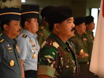 51 Perwira Tinggi TNI Naik Pangkat